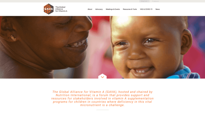 The Global Alliance for Vitamin A